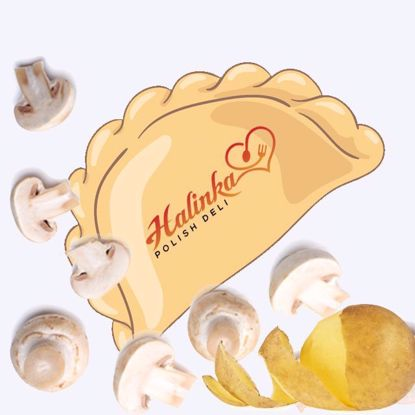 Potato Mushroom Pierogi