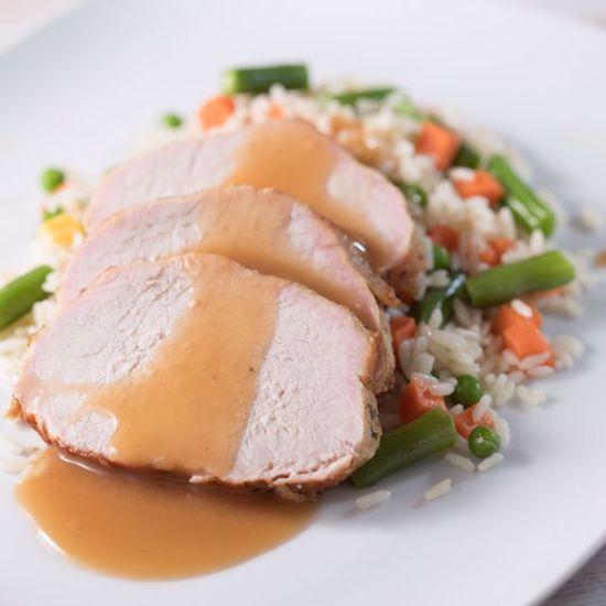 Pork Chop in Gravy